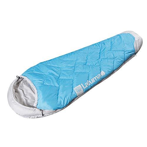 Lafuma Yukon 0° LD dames-slaapzak, synthetisch, waterafstotend, campinguitrusting, comforttemperatuur 7 °C