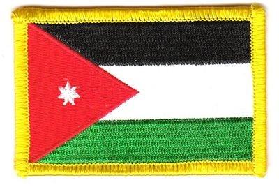 Flaggen Aufnäher Patch Jordanien Fahne Flagge NEU