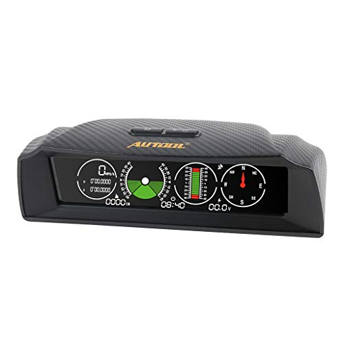 Kesoto X90 Digital GPS OBD2 Slope Meter Altimeter Car Automotive Longitude