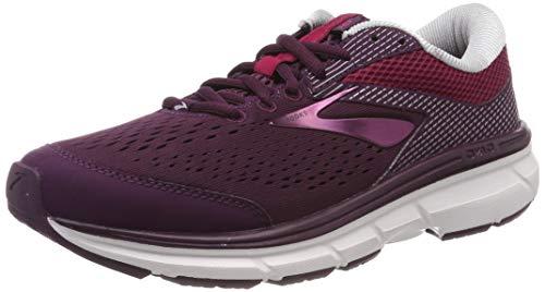 Brooks Women's Dyad 10 Purple/Pink/Grey 8.5 B US