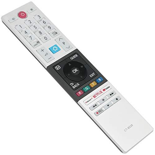 ALLIMITY CT-8528 Mando a Distancia reemplazado por Toshiba 4K UHD HDR TV 49T6863DA 43V5863DG 32L3863DG 32L2863DG 65U5863DG...
