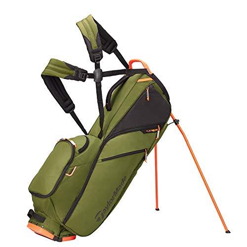 TaylorMade FlexTech Lite Bag, Army/Orange