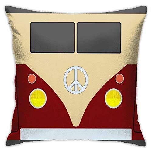 WH-CLA Pillow Cover Combi Creative Stand Throw Pillow Case Home Decorativo con Cremallera Funda De Almohada Cuadrada Funda De Almohada Ambos Lados Decorativos para El Hogar 45X45Cm Suave 🔥