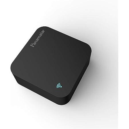 Control Remoto Inteligente IR, automatización Inteligente del hogar, Panamalar inalámbrico WiFi Universal IR Hub de Control Compatible con Alexa y Google Home para Apple Android Smartphones (IR001)