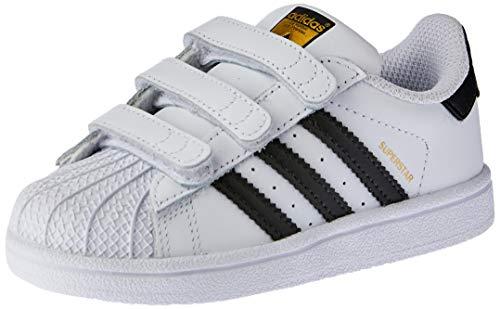 adidas Unisex Baby Superstar Hausschuhe, Weiß (Ftwbla/Negbas 000), 21 EU