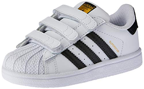 adidas Superstar CF, Zapatillas Unisex Niños, Blanco (Footwear White/Core Black/Footwear White 0), 26 EU