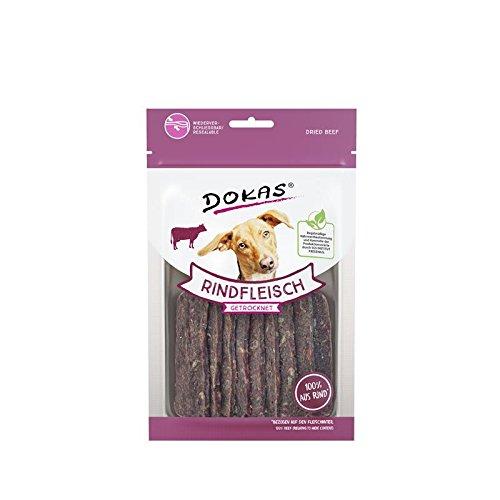 Dokas Friandises pour Chien Viande Bovine getrocknet   12 x 70g Snack pour Chien