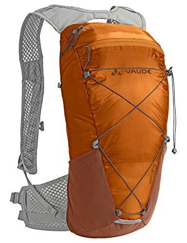 VAUDE Rucksäcke10-14l Uphill 12 LW, Rucksack für Radsport, sehr leicht, luftdurchlässiges Tragesystem, orange madder, one Size, 121789820