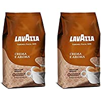 2-Pack Lavazza Crema e Aroma Whole Bean Coffee Blend, Medium Roast