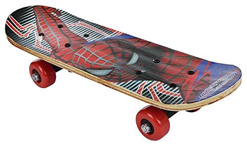 IRIS Wood-Composite Skateboard 60 cm X 15 cm, Medium (Multi-Colour)