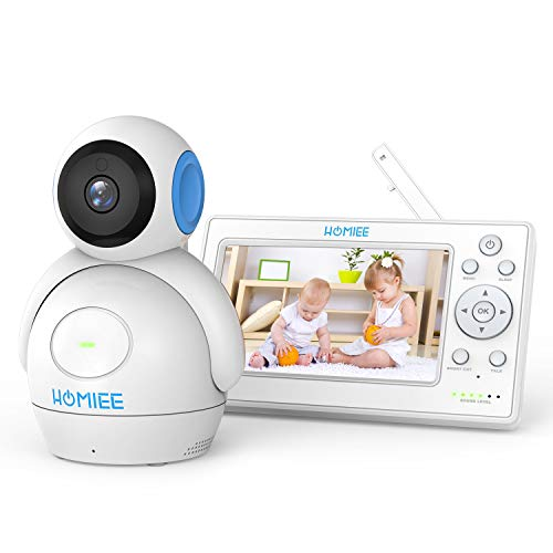 HOMIEE BM1001 720P Video Baby Monitor