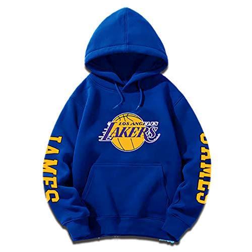 ZGJY Felpa con Cappuccio da Basket Lebron James # 23 Los Angeles Lakers Jersey Felpa con Cappuccio...