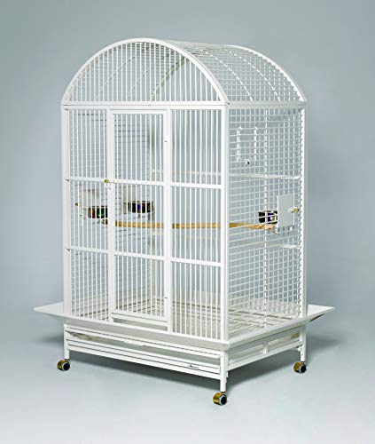 MidWest Homes for Pets Grande- Pearl White Dome Top