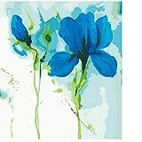 Wghz Selbst gemachte Ölgemälde-Wand-Dekoration für halbfertige Blumen-Inneneinrichtung