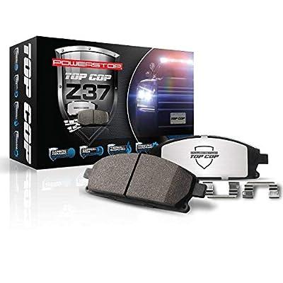 Power Stop Z37-1058 Z37 Top Cop Severe-Duty/Fleet Brake Pad