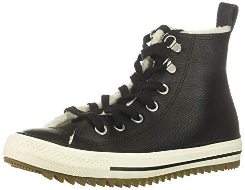 Converse Chuck Taylor All Star Hiker Boot Sneaker, Black/egret/Gum, 7 M US