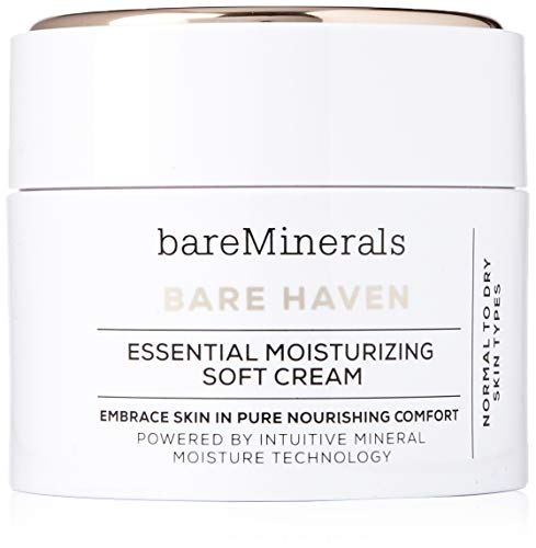 bareMinerals Bare Haven Essential Moisturizing Soft Cream, 1.7 Ounce