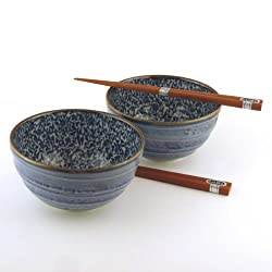 This bowl set is a great pottery 9th anniversary gifts for him.