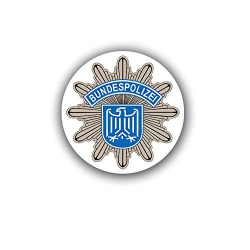 Aufkleber/Sticker Bundespolizei BPOL Bundesrepublik Deutschland 7x7cm A1850