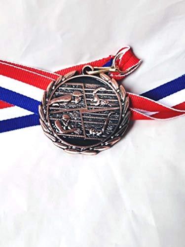 Eeng Espalda braza Brazalete Mariposa Cuatro Tipos de acción Medalla de natación con ribbion 5.0cm
