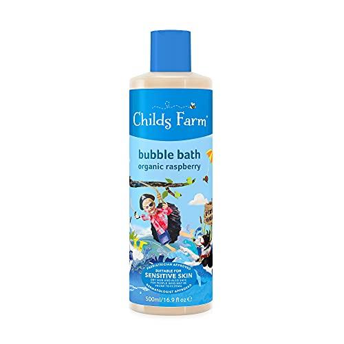 Childs Farm Children's Bubble Bath Organic Raspberry, 500ml