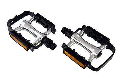 Wellgo M-20rodamiento sellado pedales de montaña de aluminio con reflector