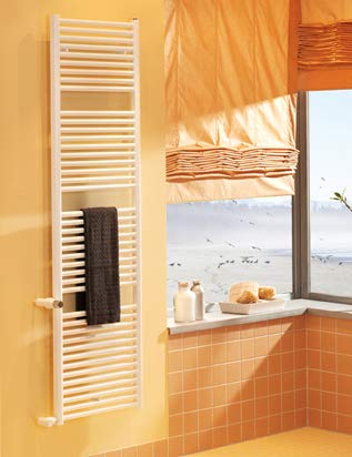 Zehnder Design Radiatore Toga TO-150-050-050 1436x35x35x500 016, radiatori da Bagno: Bianco RAL 9016 - ZT100550B100000