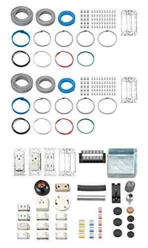 ホーザン(HOZAN) 令和2年 第二種電気工事士技能試験 練習用部材 DK-52 2回セット 特典ハンドブック・DVD付