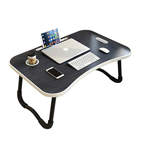 AOIWE Lap Desk, Laptop Table, Foldable Lazy Table On The Bed, Home Study Desk In Student Dormitory In Bedroom (Color : A)
