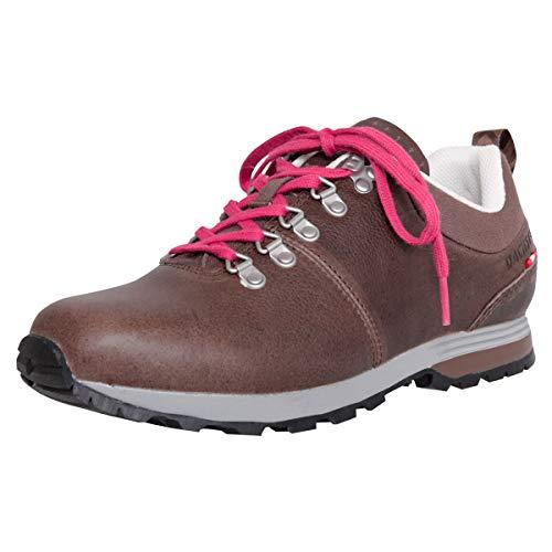 Dachstein Damen Dirndl-Schuhe Alpiner Freizeitschuh Anna II in Dunkelbraun Trachten-Schuhe, Schuhgröße:37 EU, Farbe:Dunkelbraun