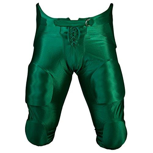 Cramer Pantalones de Juego de fútbol, 7 Almohadillas, tamaño Juvenil, Niños Hombre, GPFGYS, Verde Oscuro, S