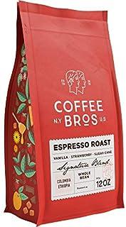Sponsored Ad - Coffee Bros., Espresso Roast — Whole Bean — 100% Arabica — 1 Bag (12oz) — Colombia & Ethiopia — Gourmet & S...