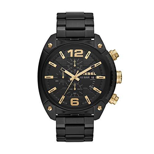 Diesel heren chronograaf kwarts horloge met roestvrij stalen armband DZ4504