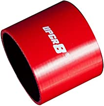 Upgr8 Universal 4-Ply High Performance Straight Coupler Silicone Hose 76mm Length (3.25
