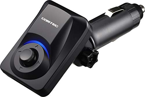 コムテック GPSレシーバー ZERO 108C 無料データ更新 LEDとアナウンスで警報をお知らせ 新型レーザー式オービスにGPSデータで対応 車両シガーソケットに挿すだけで使用可能