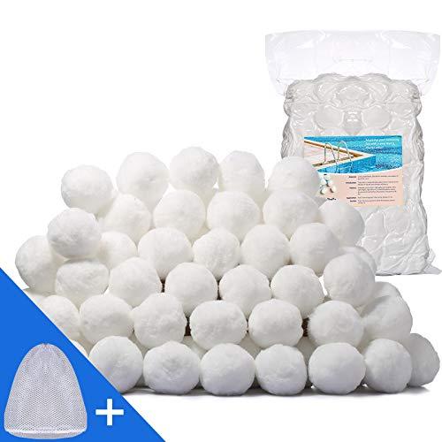 Pool Filter Balls Eco-Friendly Fiber Filter Media