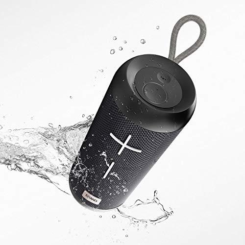 R-SOUNDBAR Tragbarer Bluetooth Sound,IPX6 wasserdichte Lautsprecher,Drahtlose TWS-Verbindung, Eingebautes Mikrofon, TF-Karte, Automatische Abschaltung, Dusche & Zuhause