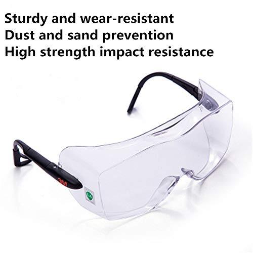 Veiligheidsbril anti-condens spiegel vliegtuig anti-splash wind en stof versleten bijziendheid
