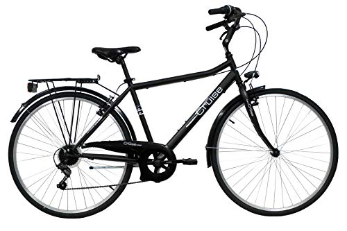 "VTC 28"", Bicicletta da uomo, Discovery Adventures, a 6 velocità, Shimano TY21, attacco manubrio..."