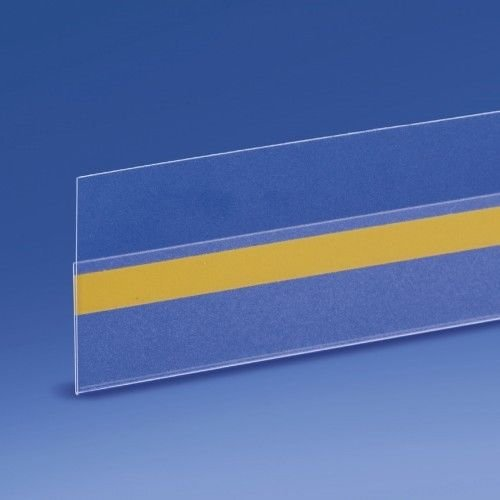50 Perfiles Adhesivos Portaprecios para Estantes - 100x3h cm