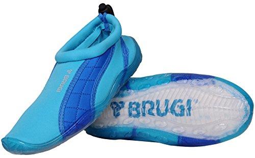 Brugi Brugi 2SA9 Badeshuhe Surfshuhe Wassersportshuhe Sailing Aquashuhe (türkis, 36)