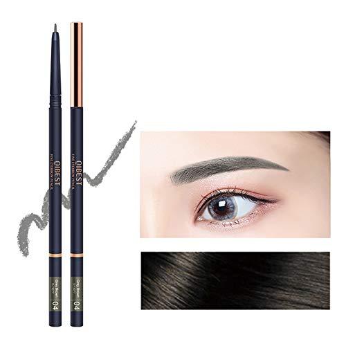 Allbestaye Crayon à sourcils ultra fin précis naturel poudre de teinture pour les sourcils stylo de maquillage étanche