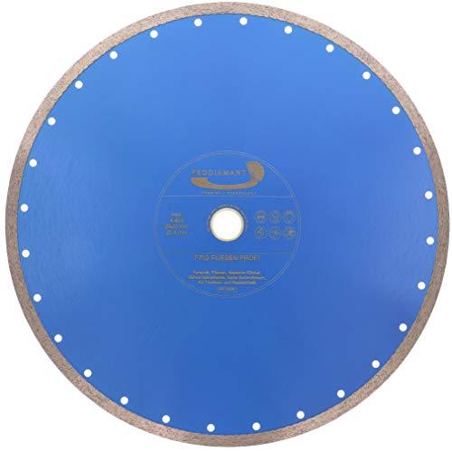 PRODIAMANT Profi Diamant-Trennscheibe PRORIM 400 mm x 30/25,4 mm kein ausbrechen bei Fliesen Feinsteinzeug Keramik