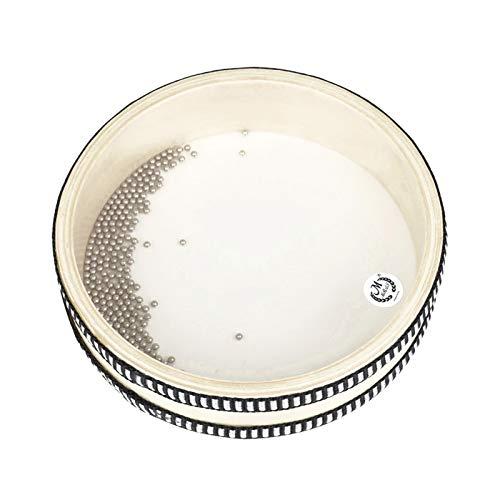 Solinder Tambor Wave Drum 57,4 cm de onda transparente, tambor de oceano, instrumento de percussão educacional precoce para meninos e meninas