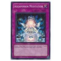 遊戯王カード 英語版 AQUAMIRROR MEDITATION(儀水鏡の瞑想術) スーパーレア HA05-EN058