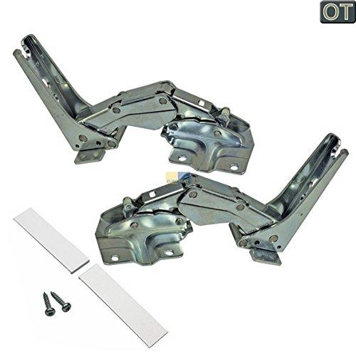 Türscharnier Set, 2 Stück, teilweise passend zu Geräten von: BOSCH / SIEMENS / BSH orig. 00481147
