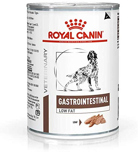 Royal Canin Vet Diet Gastro Darm Low Fat Hunde-Wet 12 x 410 g (4.92kg) (Pack von 2)