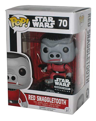 Funko POP! Star Wars Red Snaggletooth Smugglers Bounty