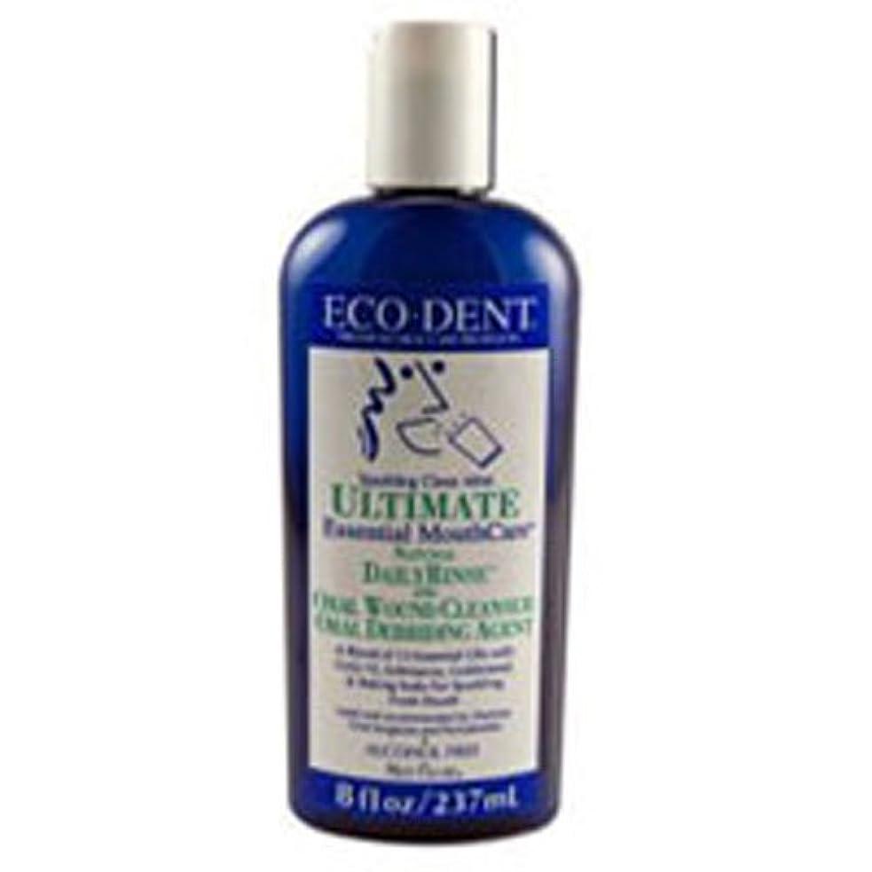 機構スクラッチ可動式Eco-Dent International - Ultimate Natural Dailyrinse Clean Mint, 8 fl oz liquid by Eco-Dent
