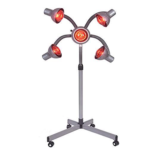 Professionele kappers Styling Equipment, met vier wielen 5 Head Bollen 950W Infrarode het Verwarmen Lamp, voor Processor Hair Styling